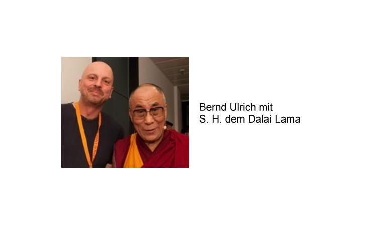 Bernd Ulrich und S. H. der Dalai Lama