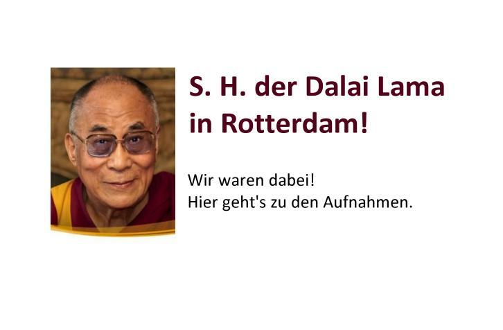 Dalai Lama Rotterdam