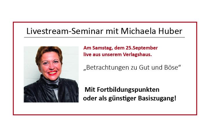 Livestream-Seminar Huber