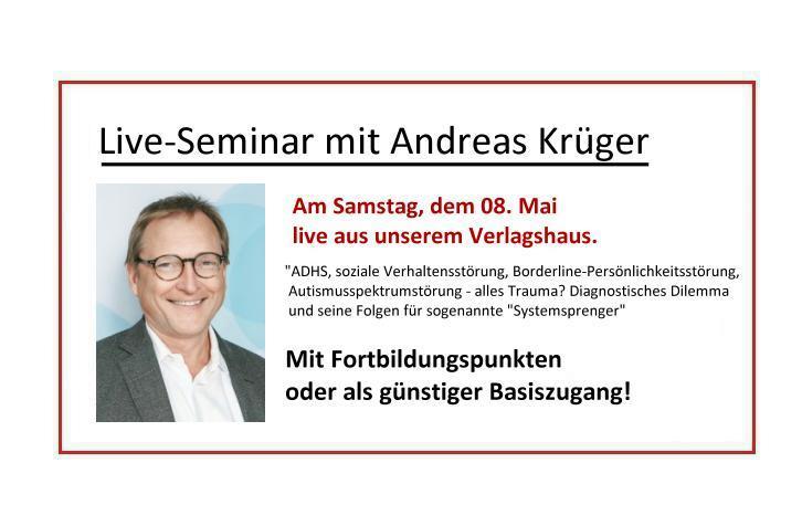 Livestream-Seminar Krüger