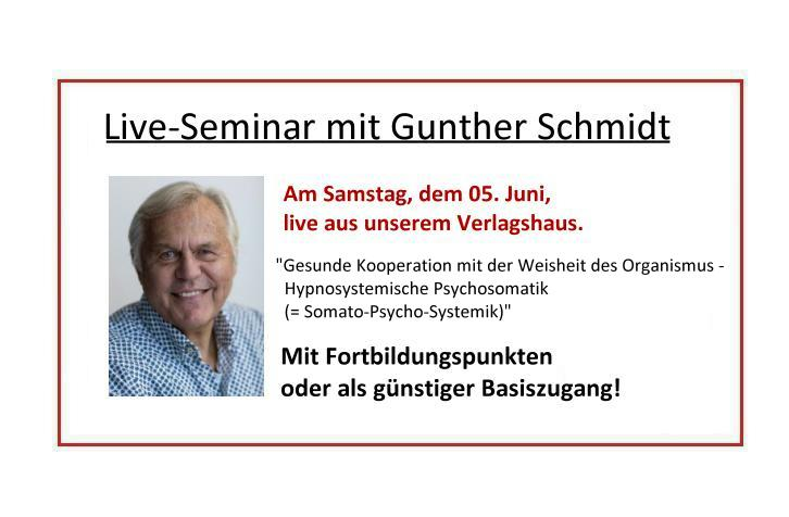 Live-Seminar Schmidt