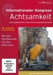 Dalai Lama u. a.: Internationaler Kongress Achtsamkeit - Gesamt DVD