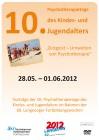 Langeoog 2012: 10. Psychotherapietage des Kindes- u. Jugendalters