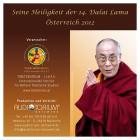 Dalai Lama: Komplett Set, Österreich 2012