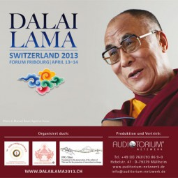Dalai Lama: Daily meditation, source of inner peace (english) - Fribourg 2013 - Set -